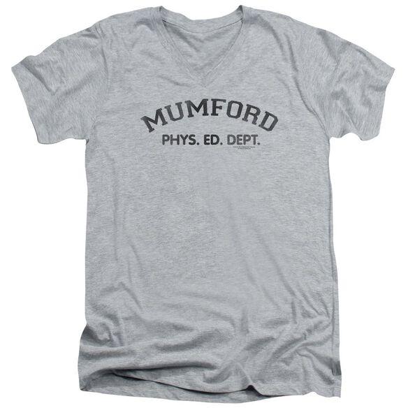 Beverly Hills Cop Mumford Short Sleeve Adult V Neck Athletic T-Shirt