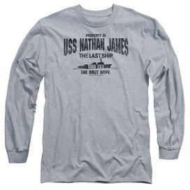 Last Ship Uss Nathan James Long Sleeve Adult Athletic T-Shirt