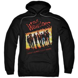 Warriors One Gang Adult Pull Over Hoodie