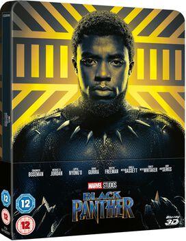 Black Panther [Zavvi Blu-ray Steelbook]