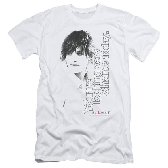The L Word Looking Shane Today Short Sleeve Adult T-Shirt