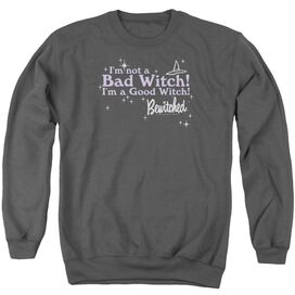 Bewitched Bad Witch Good Witch Adult Crewneck Sweatshirt
