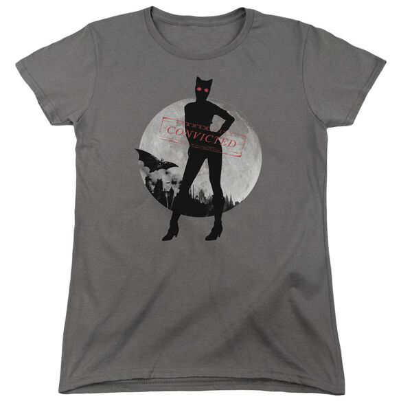 Arkham City Catwoman Convicted Short Sleeve Womens Tee T-Shirt