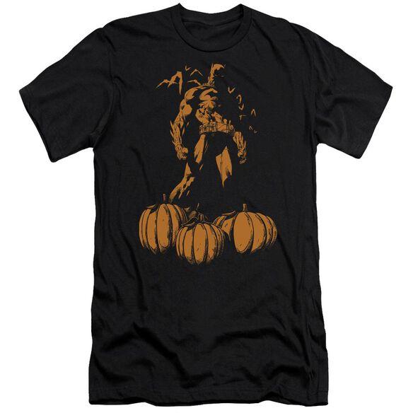 Batman A Bat Among Pumpkins Short Sleeve Adult T-Shirt