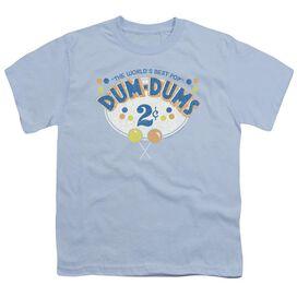 DUM DUMS 2 CENTS - S/S YOUTH 18/1 - LIGHT BLUE T-Shirt