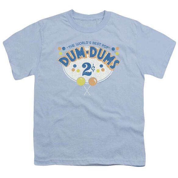 Dum Dums 2 Cents Short Sleeve Youth Light T-Shirt