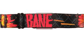 Bane Name Fiery Links Seatbelt Belt