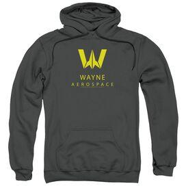 Justice League Movie Wayne Aerospace Adult Pull Over Hoodie