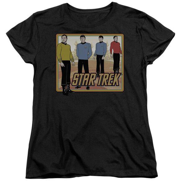 Star Trek Classic Short Sleeve Womens Tee T-Shirt