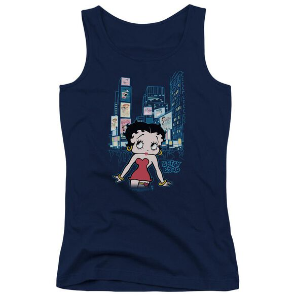Betty Boop Square Juniors Tank Top