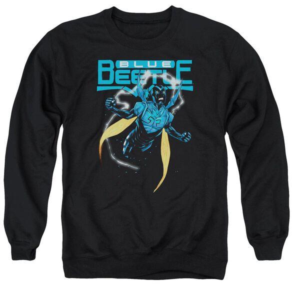 Jla Blue Beetle Adult Crewneck Sweatshirt