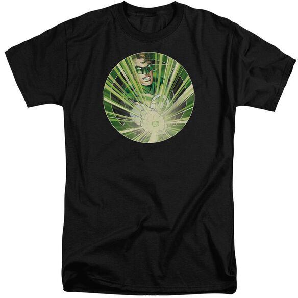 Green Lantern Light Em Up Short Sleeve Adult Tall T-Shirt
