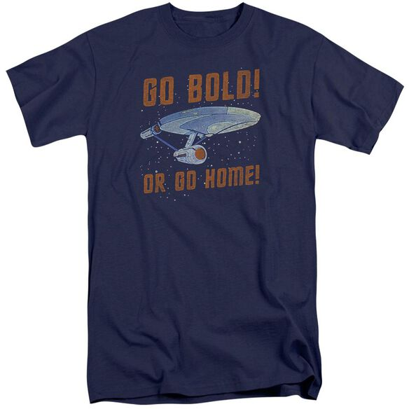 Star Trek Go Bold Short Sleeve Adult Tall T-Shirt