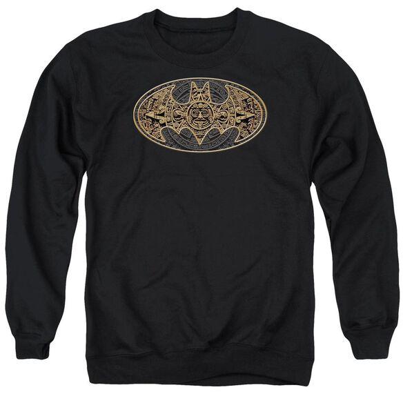 Batman Aztec Bat Logo Adult Crewneck Sweatshirt