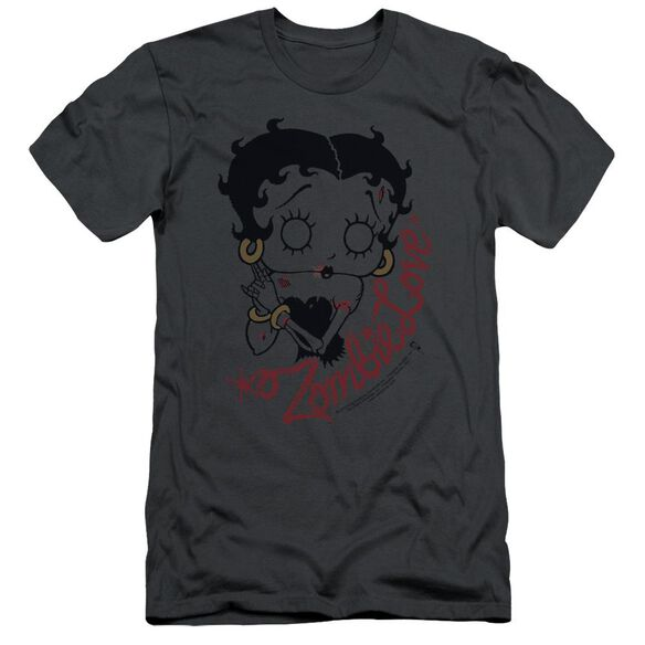Betty Boop Classic Zombie Short Sleeve Adult T-Shirt