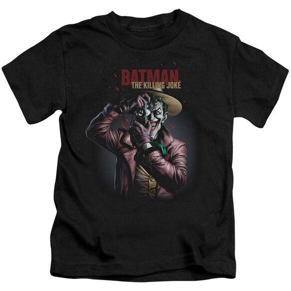 Batman Killing Joke Camera Short Sleeve Juvenile T-Shirt
