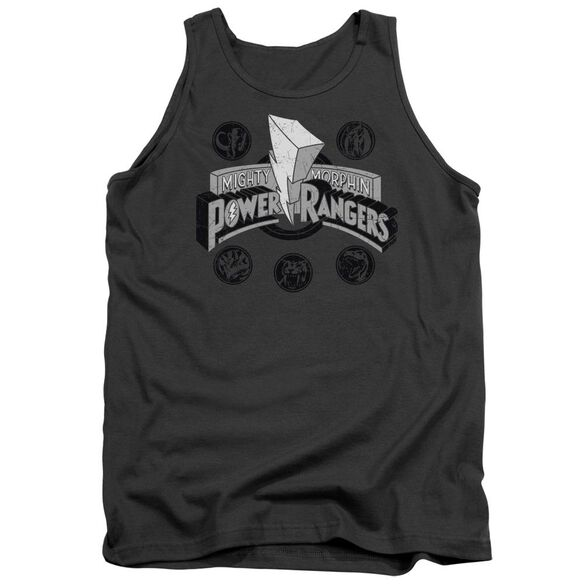 Power Rangers Power Coins Adult Tank