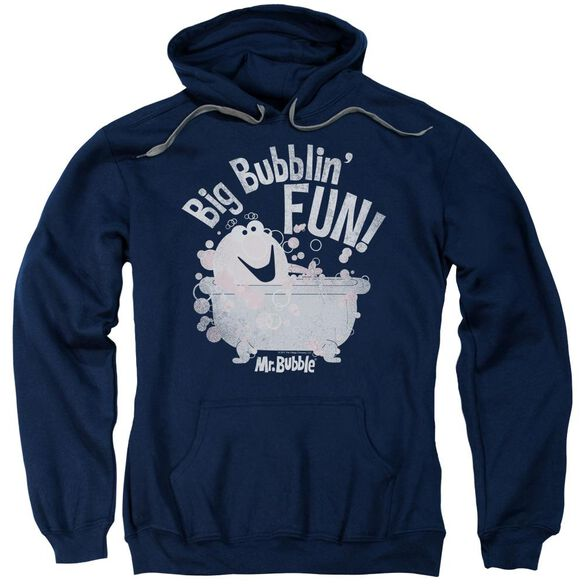 Mr Bubble Big Bubblin Fun Adult Pull Over Hoodie