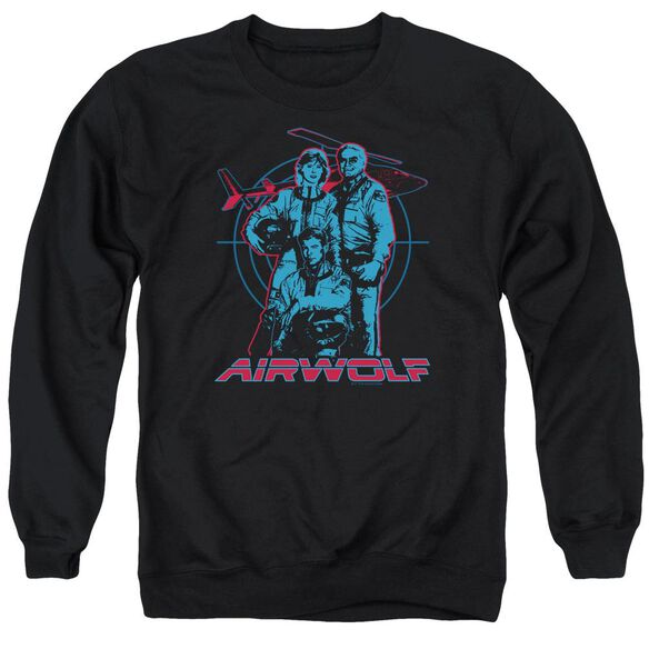 Airwolf Graphic Adult Crewneck Sweatshirt