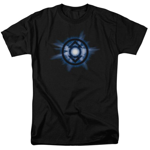 Green Lantern Indigo Glow Short Sleeve Adult T-Shirt