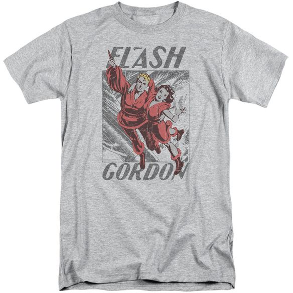 Flash Gordon To The Rescue Short Sleeve Adult Tall Athletic T-Shirt