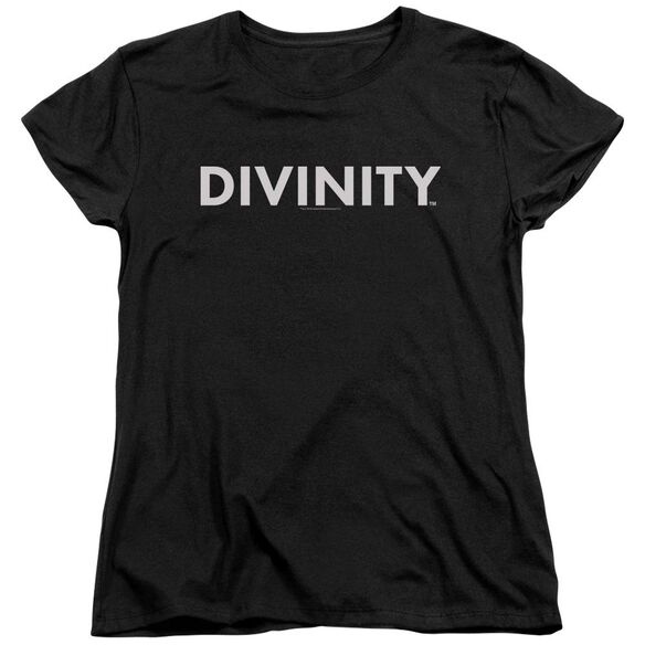 Valiant Divinity Logo Short Sleeve Womens Tee T-Shirt