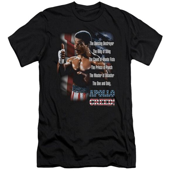 Rocky Ii The One And Only Short Sleeve Adult T-Shirt