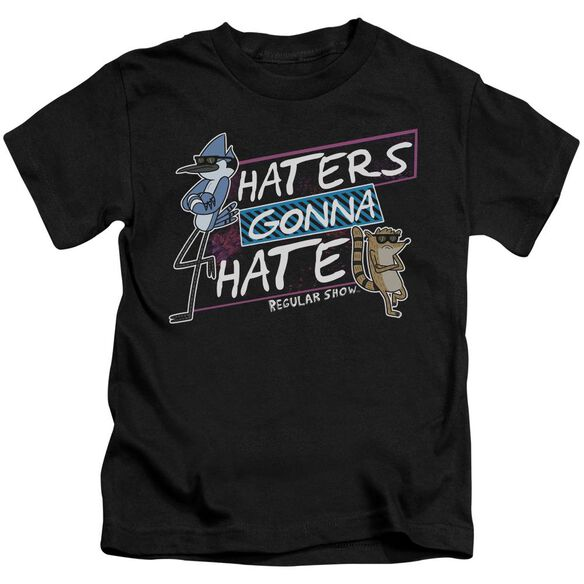 Regular Show Haters Gonna Hate Short Sleeve Juvenile T-Shirt