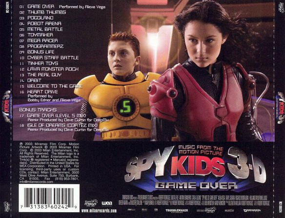 Spy Kids 3 D:Game Over