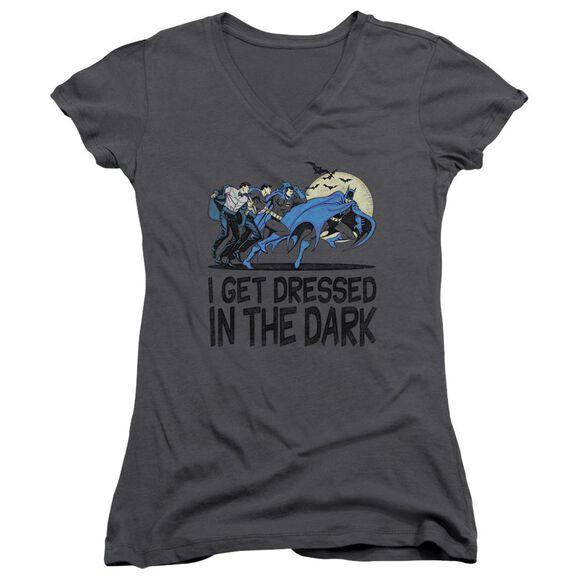 Dc Get Dressed Junior V Neck T-Shirt