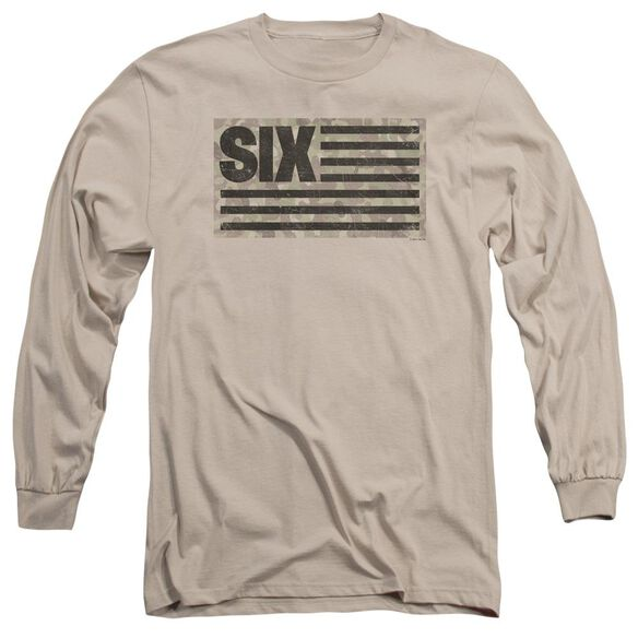 Six Six Camo Flag Long Sleeve Adult T-Shirt