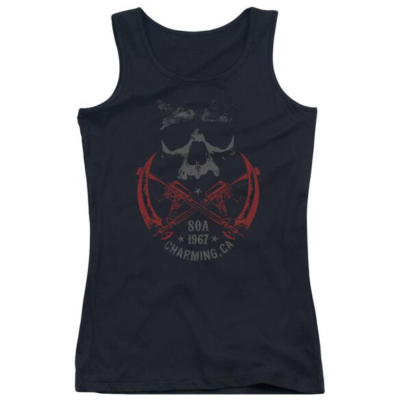 Sons Of Anarchy Cross Guns Juniors Tank Top