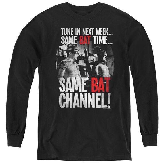 Batman Classic TV Bat Channel-youth Long