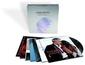 Andrea Bocelli - Complete Pop Vinyl Albums Box Set