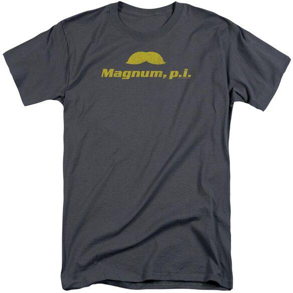 Magnum Pi The Stache Short Sleeve Adult Tall T-Shirt