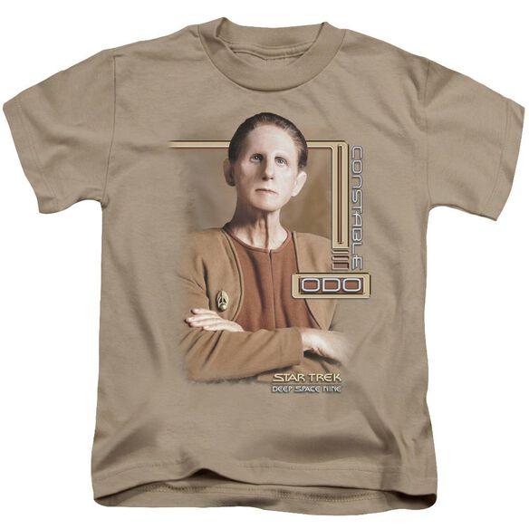 Star Trek Odo Short Sleeve Juvenile Sand T-Shirt