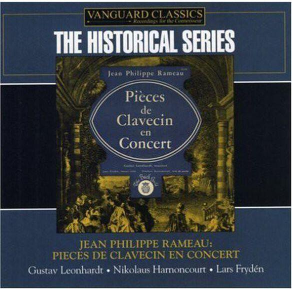 J.P. Rameau - Pieces de Clavecin en Concer