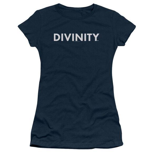 Valiant Divinity Logo Short Sleeve Junior Sheer T-Shirt
