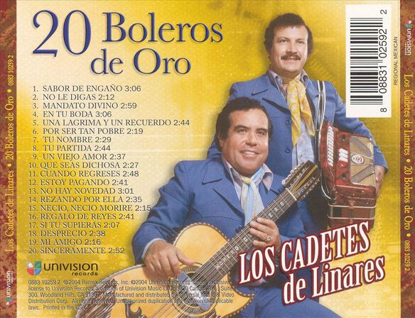 20 Boleros De Oro