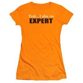 Play On Expert Short Sleeve Junior Sheer T-Shirt