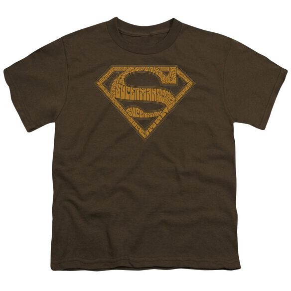 SUPERMAN 60S TYPE SHIELD-S/S T-Shirt