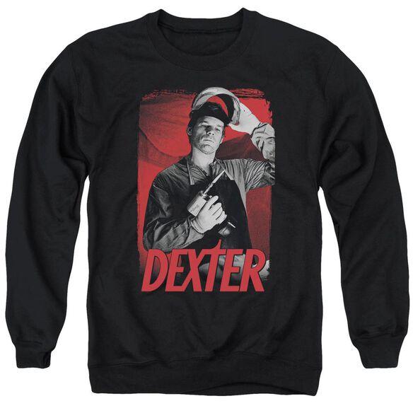 Dexter See Saw Adult Crewneck Sweatshirt