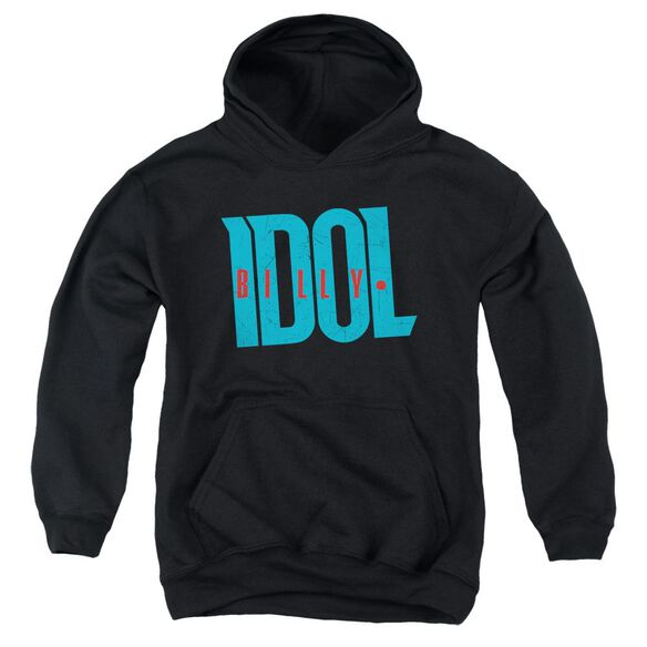 Billy Idol Logo Youth Pull Over Hoodie