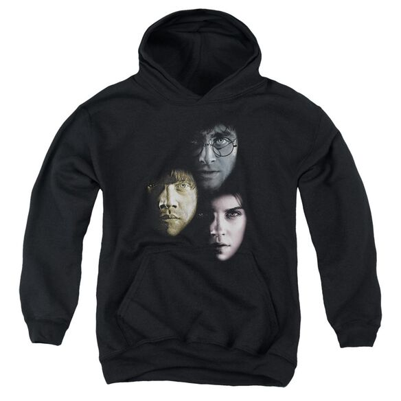 Harry Potter Hero Heads Youth Pull Over Hoodie