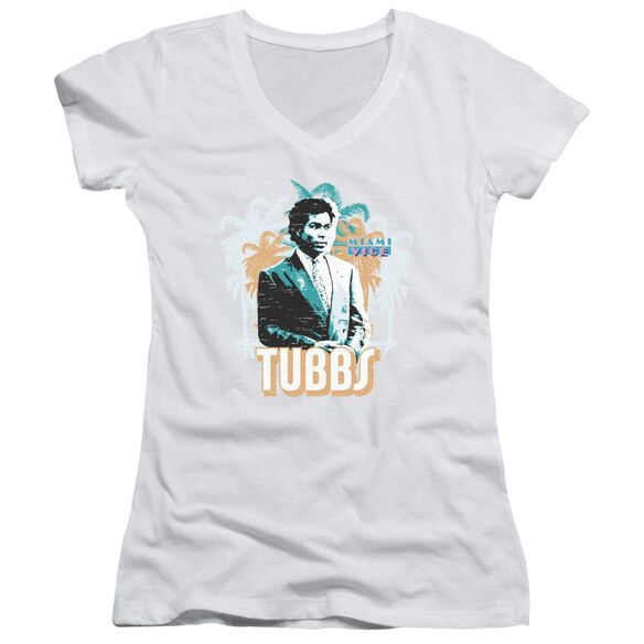 Miami Vice Tubbs Junior V Neck T-Shirt