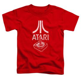 Atari Joystick Logo Short Sleeve Toddler Tee Red T-Shirt