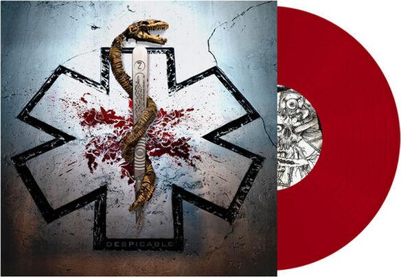 "Carcass - Despicable (Red Vinyl 10"")"