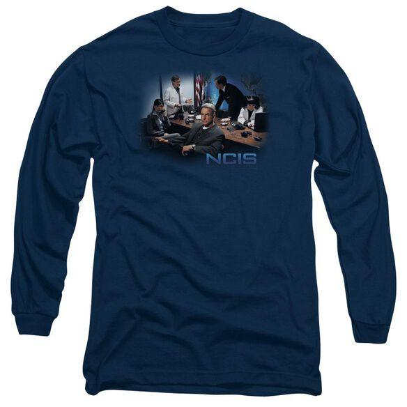 Ncis Original Cast Long Sleeve Adult T-Shirt