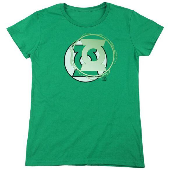 Jla Gl Energy Logo Short Sleeve Womens Tee Kelly T-Shirt