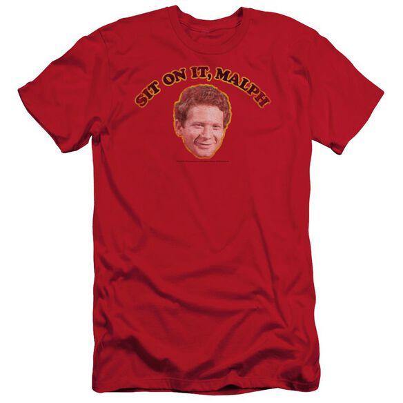 Happy Days Sit On It Malph Short Sleeve Adult T-Shirt
